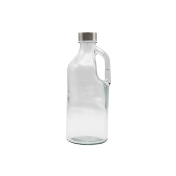 Water Glass Bottle With Handle 750ml