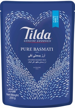 Tilda Pure Basmati Rice 250g