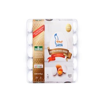 Saha Pasteurized Shell Eggs 30s