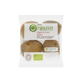 Tesco Organic Kiwi (4Pcs)