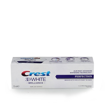 Crest 3D White Brilliance Perfection Toothpaste - 75ml