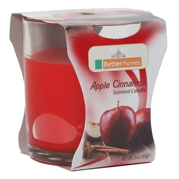 Better Homes Apple Cinnamon Candle 4Oz