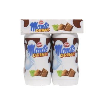 Monte Milk Drink With Choco & Hazelnut 4X95ml