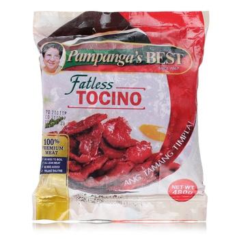 Pampangas Best Pork Tocino Fatless  480