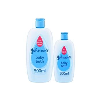 Johnsons Baby Bath 500ml + 200ml