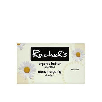 Rachels Organic Butter Unsalted 250g