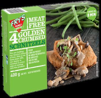 Frys Golden Crumbed Schnitzel 400g