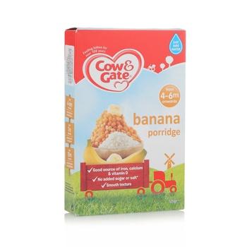 Cow & Gate Banana Porridge 4Mon 125g