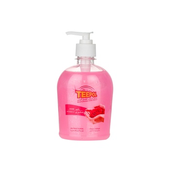 Teepol Moisturizing Hand Wash Rose 425ml