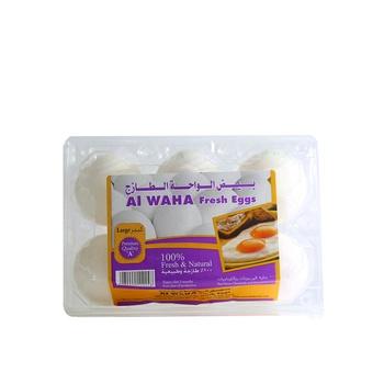 Al Waha White Eggs White 1 X 6 pcs