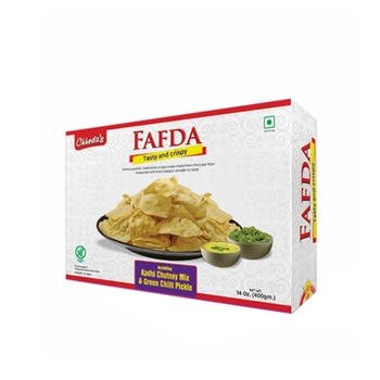 Chhedas Fafda Pack 400g