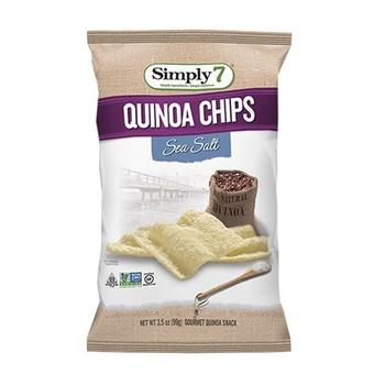 Simply 7 Chips Quinoa Sea Salt 99g
