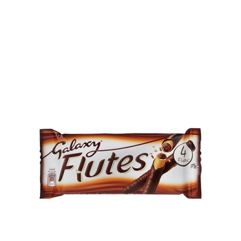 Galaxy Flutes Four Finger Chocolate 45g
