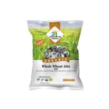24 Mantra Org Wheat Atta Prem 1kg