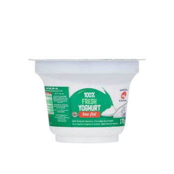 Al Ain Natural Yoghurt-Low Fat 170g