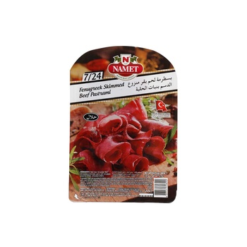 Namet Beef Pastrami 7/8 100 Gms