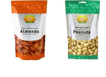Goodness Foods Almonds Roasted & Salted + Peanut Salted 200g