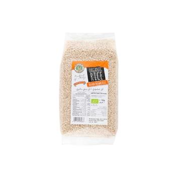 Organic Long Round Brown Rice 1Kg.