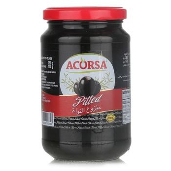 Acorsa Black Pitted Olives 350g