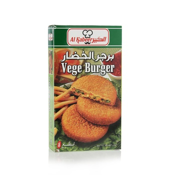 Al Kabeer 4 Vegetarian Burger 300g