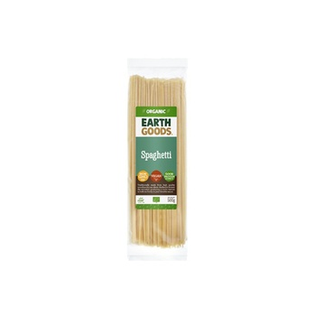 Earth Goods Organic Spaghetti Pasta 500g