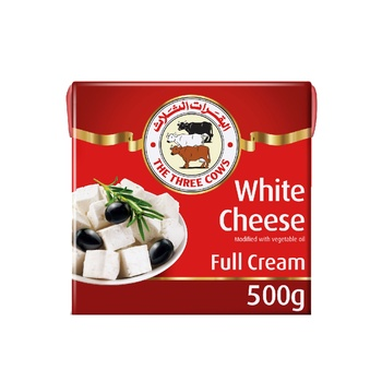 3cow Ls White Cheese 500g