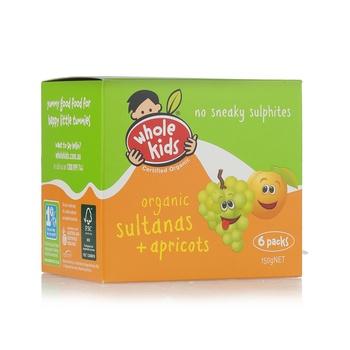 Wholekids Organic Sultanas & Apricots 150g