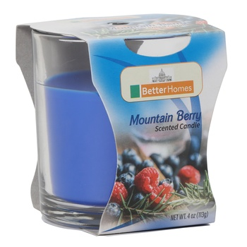 Better Homes Mountain Berry Candle 4Oz