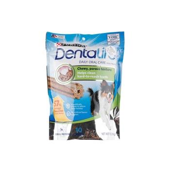 Dentalife Daily Oral Care Dog Treats Small / Medium  (20-40 lbs) 10 Chews