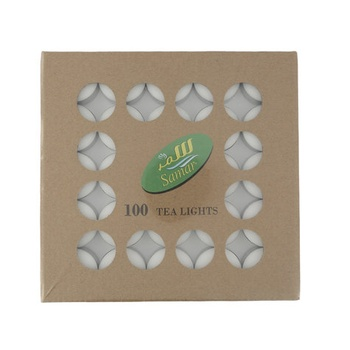 Samar Tea Light Candle - 100s Pack