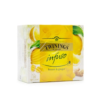 Twinings Infuso Lemon & Ginger 50's
