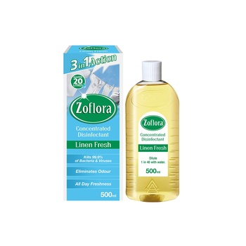 Zoflora Multi-purpose Concentrated Disinfectant Linen Fresh 500ml