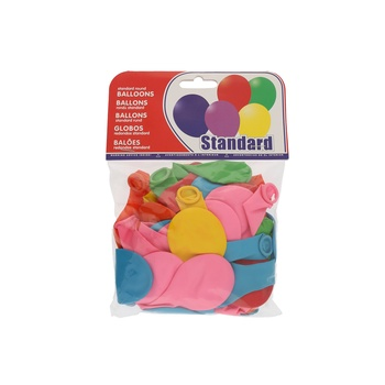 Balloon Assorted- 50pcs pack