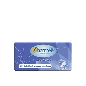Charmee Pantyliners Breathable Lavender 20s