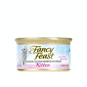 Fancy Feast Kitten Ocean White Fish 3Oz