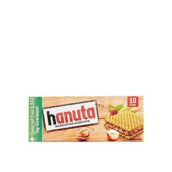 Hanuta Hazelnut Sandwich Cream 220g
