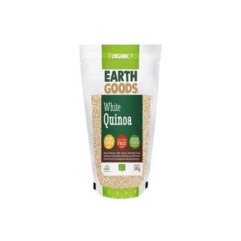 Earth Goods Organic White Quinoa 340g