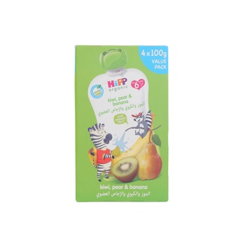Hipp Kiwi In Pear Banana - 4X100g