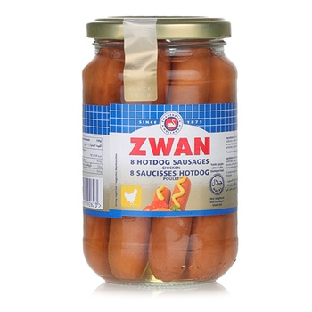 Zwan Chicken Halal Hot Dog Sausages - 270g