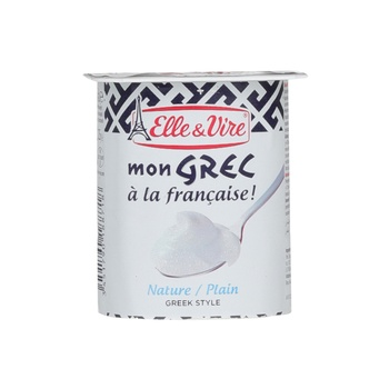 Elle & Vire Greek Yoghurt Plain 125g