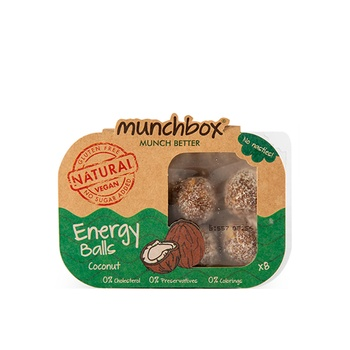 Munc Box Coconut Energy Balls
