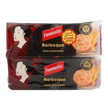 Fantastic Rice Cracker BBQ 2 x 100g