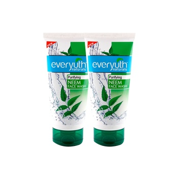 Everyuth Naturals Purifying Neem Face Wash 150g + Neem Papaya Scrub 150g