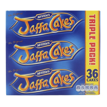 McVities Jaffa Cakes Triple 10g