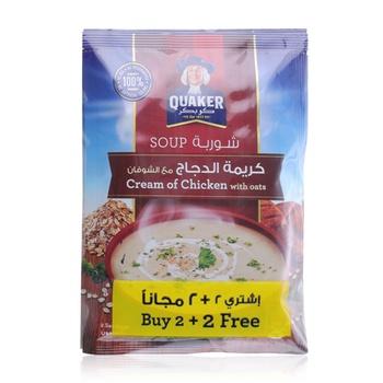 Quaker Soup Cream of Chicken 4 x 63g