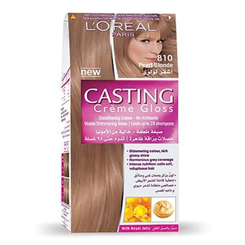 L'Oreal Paris Casting Creme Gloss Hair Color 810 Pearl Blonde