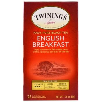 Twinings Classic English Breakfast Tea Bag 10s