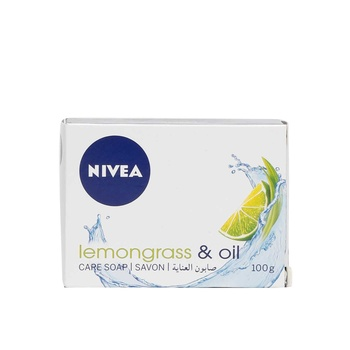 Nivea Soap Lemon Grass & Oil 100g