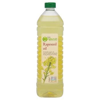 Tesco Organic Rapeseed Oil 1ltr