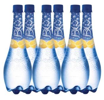 Oasis Blu Sparkling Water Lemon 6 x 450ml